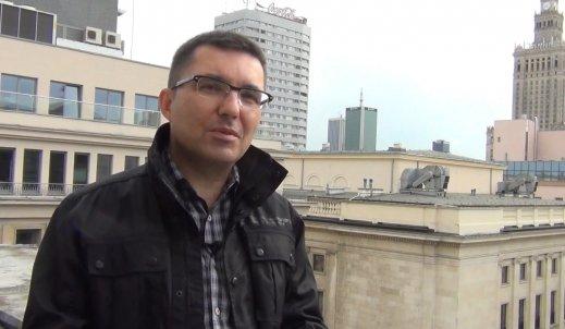Jak pracę w mediach zaczynał Artur Kalicki?