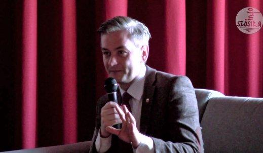 Prezydent Słupska Robert Biedroń z wizytą w ZSO3