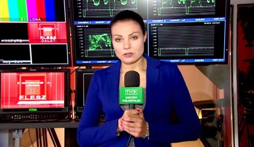 Agata Sendecka o pracy reportera telewizyjnego