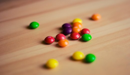 Ciasto Skittles