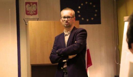 Spotkanie z hematologiem, dr Włodzimierzem Mendrkiem w Centrum Edukacji w Zabrzu