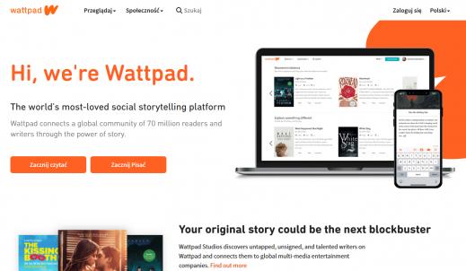 Wattpad – czyli raj dla początkujących pisarzy