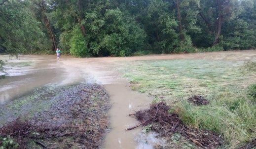 Zniszczone drogi, zalane sklepy – powódź z czerwca 2020 na Podkarpaciu