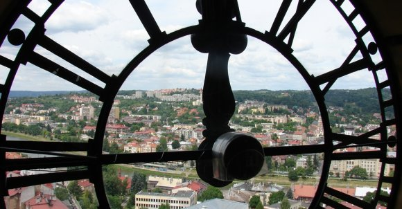 Zegar w Przemyślu