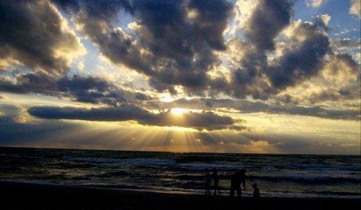 Geometria w zjawiskach naturalnych – chmury