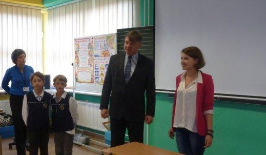 Wizyta nauczycieli z Ukrainy