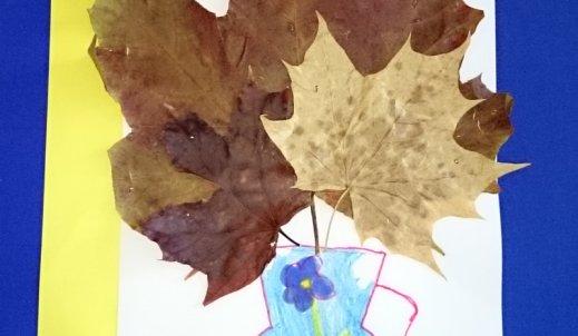 Jesień w pracach uczniów
