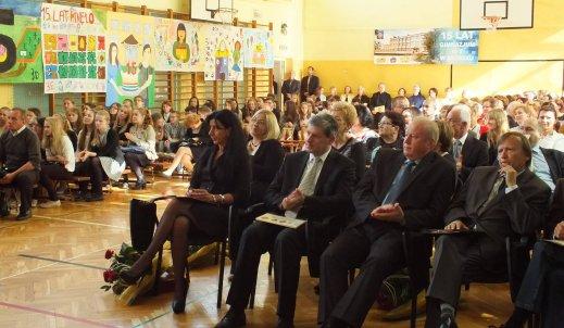 15-lecie Gimnazjum nr 2 w Brzesku