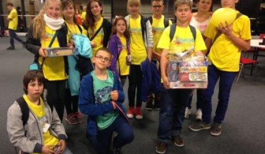 Nasi wolontariusze na Stadionie Narodowym w Warszawie