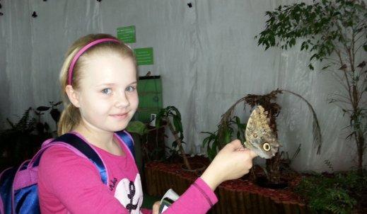 Spotkanie pierwszego stopnia z … motylami ;-)