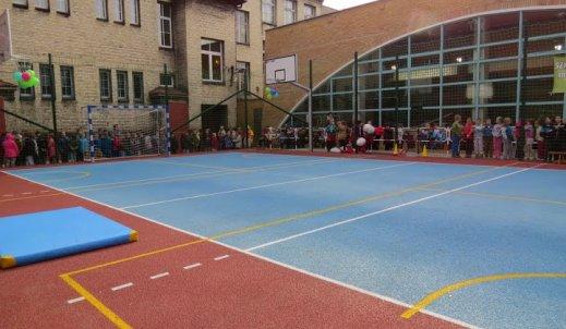 Nowe boisko szkolne