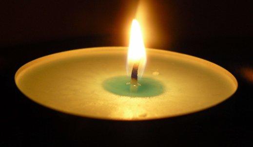 Światło świecy