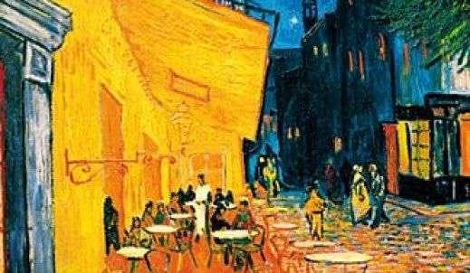 """,,Nocna kawiarnia""""- opowiadanie zainspirowane obrazem Van Gogha"""