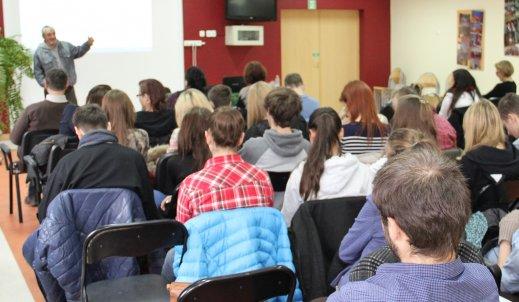 Warsztaty reportersko-dziennikarskie w Zespole Szkół Ekonomiczno – Usługowych w Żychlinie