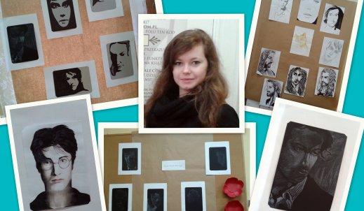 Biblioteka Szkolna wspiera talenty – wywiad z Anią Pietrzyk