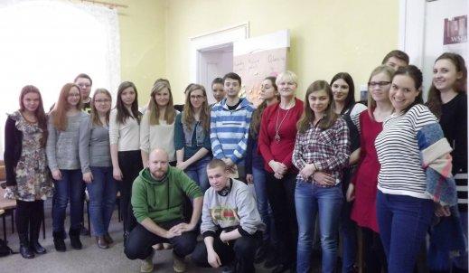 O studiach i perspektywach na pracę rozmawiali uczniowie w ZSO im.W.Kętrzyńskiego.