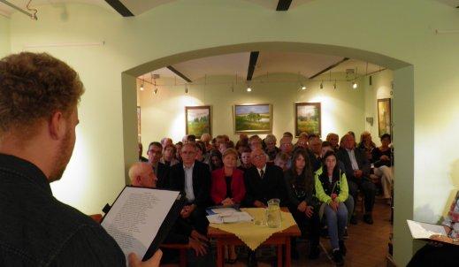 Spotkanie z regionalnym poetą-  panem Ryszardem Czaczką