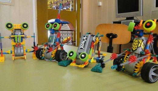 Wojny Robotów – klocki K'nex