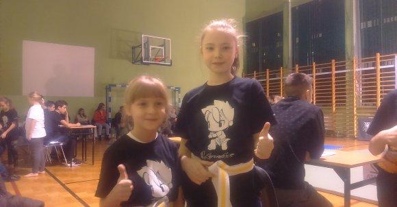 Zuzia Karpiarz i Natalia Michalak.