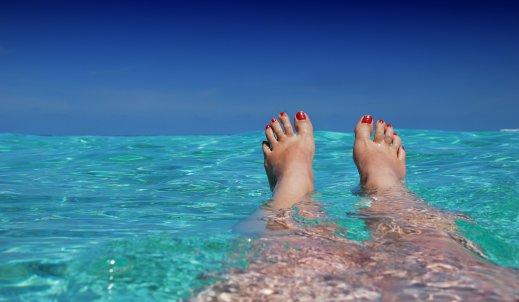 Część mnie stale na wakacjach…