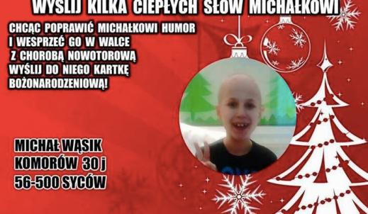 Życzenia dla Michałka – I TY możesz pomóc!!!
