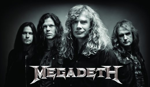 Koncert Megadeth w Łodzi 07.06.2016