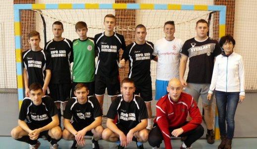 II miejsce w Powiatowych Rozgrywkach Halowej Piłki Nożnej Chłopców