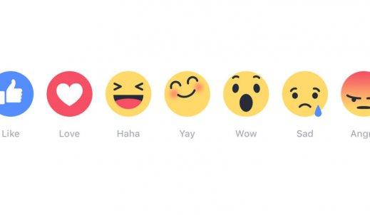 Facebook rozszerza możliwości lubienia postów
