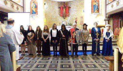 1050 rocznica chrztu Polski – czyli przedstawienie z udziałem uczniów naszej szkoły