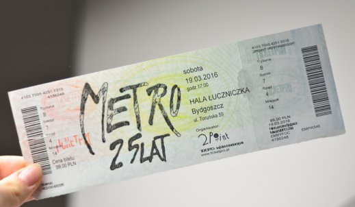 """Pieniądze szczęścia nie dają – relacja z musicalu """"Metro"""""""