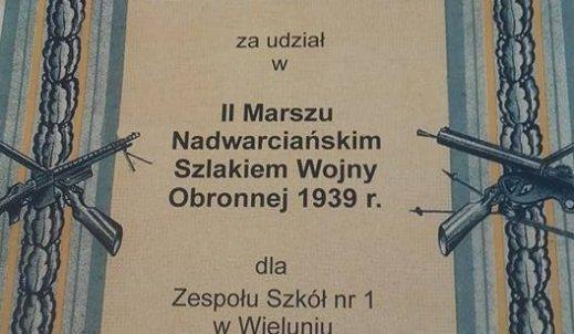 II Marsz Nadwarciańskim Szlakiem Wojny Obronnej 1939r.