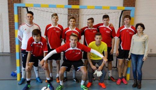 Powiatowy Turniej Halowej Piłki Nożnej Chłopców