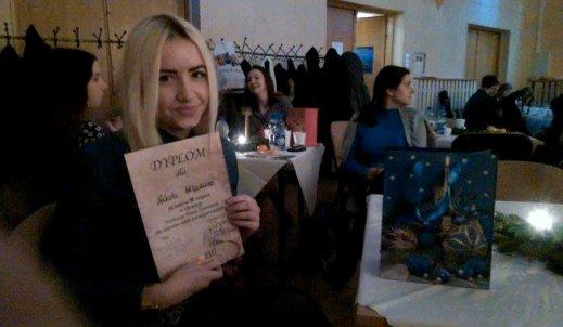 III miejsce Nikoli Wladarz w VIII Międzyszkolnym Konkursie Poezji Śpiewanej