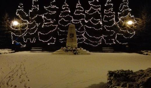 Spacer po pięknej , śnieżnej Małkini