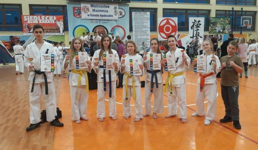 Mistrzostwa Mazowsza w karate kyokushin – Siedlce 2017