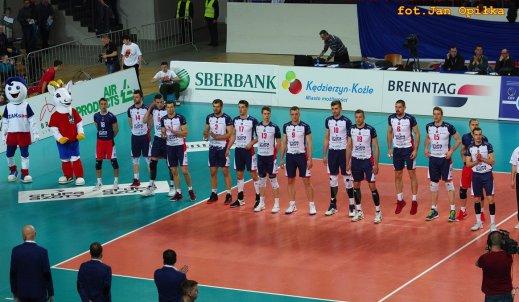 Mistrz Polski ZAKSA odpada z Ligi Mistrzów