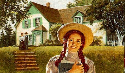 Ania z Zielonego Wzgórza.