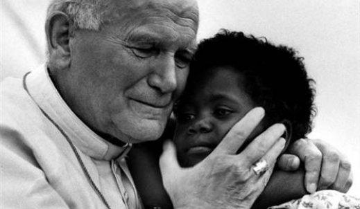 Jan Paweł II – człowiek tolerancji i przyjaciel wszystkich ludzi.