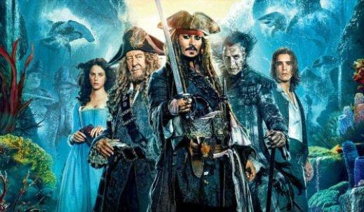"""""""Piraci z Karaibów. Zemsta Salazara"""" wpłynęli na ekrany kin."""