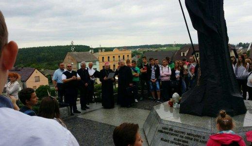 Pielgrzymka szkół im. Jana Pawła II na Górę św. Anny