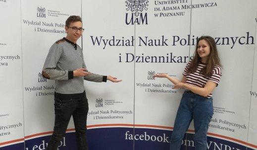 Medialni na UAMie w Poznaniu