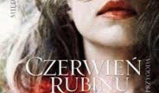 """Recenzja książki"""" Czerwień rubinu""""."""