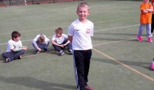Aktywność sportowa najmłodszych uczniów