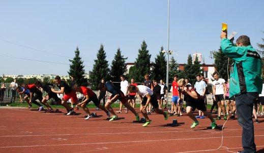 Z obiektywem wśród sportowców – Szkolna Drużynowa Liga Lekkoatletyczna