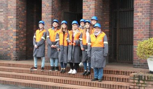Z wizytą w laboratorium Zakładów ArcelorMittal Poland S.A. w Zdzieszowicach