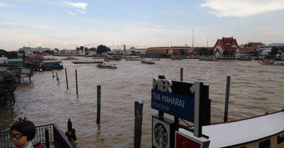 Chao Phraya - arteria komunikacyjna Bangkoku