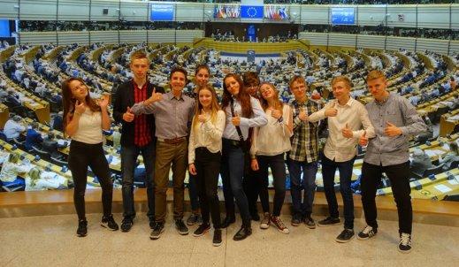 Wizyta w Europarlamencie!