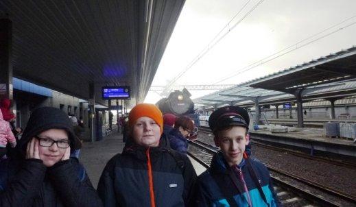 Przejazd pociągiem retro