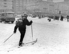 Tak wyglądała zima w 1979 roku. To dopiero była zima...