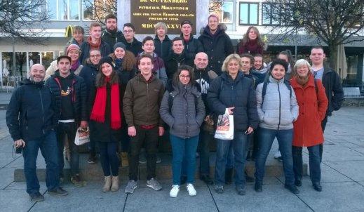 Niemiecko-francusko-polsko-czeskie spotkanie młodzieży w ramach porozumienia czterostronnego